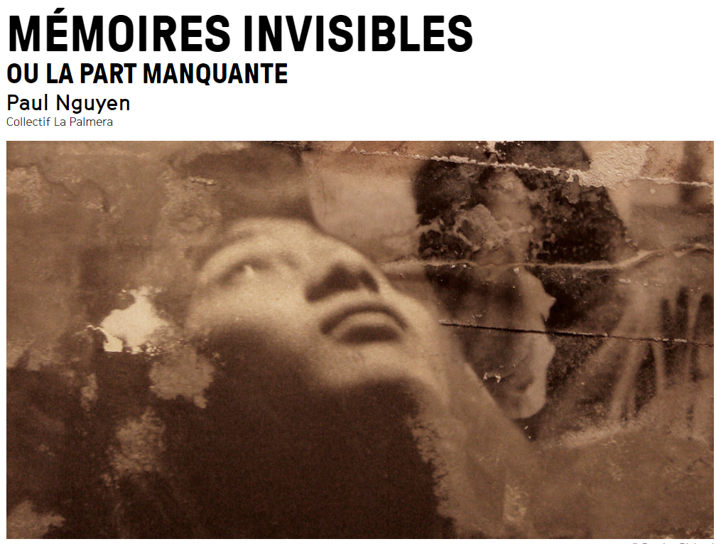 Mémoires invisibles Quentin Raymond