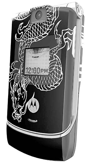 Motorola Creates Laser-etched Envy with Miami Ink Collection