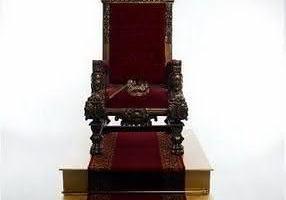 Série virtudes: Um trono com o meu nome escrito