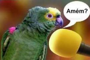 Piadas para crentes [7] – O papagaio pregador