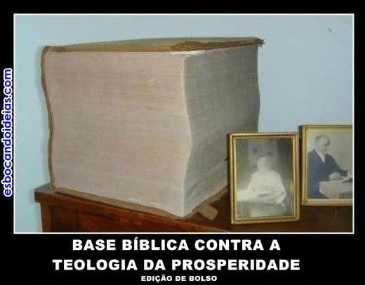 Base bíblica contra a teologia da prosperidade