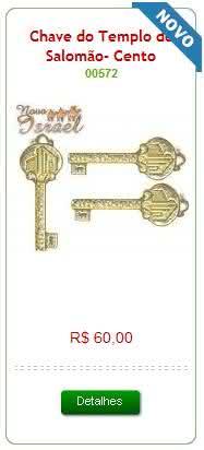 Chave do templo de Salomão