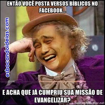 Evangelizar no Facebook
