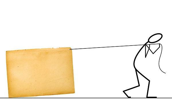 Ilustrações Cristãs: É pesado, mas não é um peso para mim!