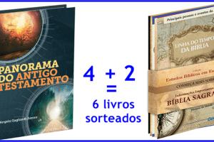 Resultado do sorteio de 6 livros cristãos