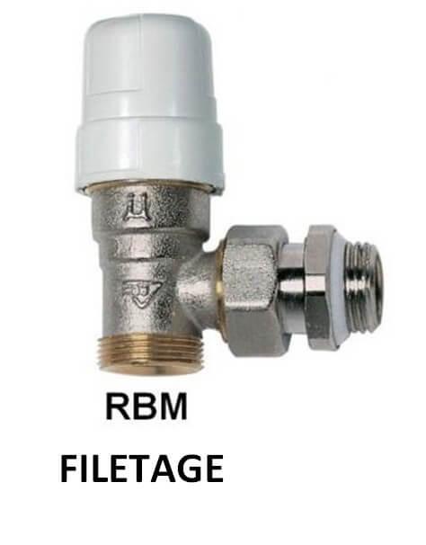 robinet thermostatique 1 2 equerre male rbm