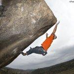 Jordi Salas en Beer Action 7b+ Cogul - Foto Pete O'Donovan