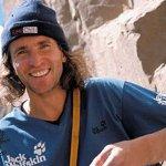 El escalador alemán Stefan Glowacz