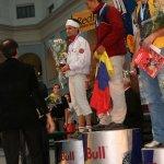 Podium en la Ultima Copa del Mundo de escalada en velocidad 2006