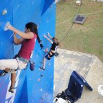 Dificultad femenino del I Campeonato Continental Juvenil IFSC-PAC 2010 - Foto Alex Fritz