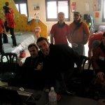 Organizadores del Abierto de escalada en boulder SANHIBLOC Serie 1