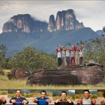 Team Tierra de sueños Primer ascenso en el Tepuy Adankasima