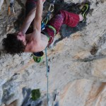 Adam Ondra en Chilam Balam 9b - Foto David Munilla