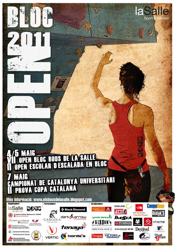 Poster Séptimo Open Bloc Bous de la Salle
