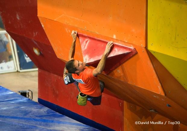 Bruno Macías Campeon de España de Boulder 2011 - Foto David Munilla