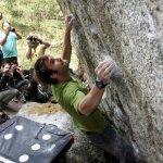 Chris Sharma en la 8va Edición del Melloblocco 2011