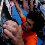 Villan Alayón en el 7mo Open Bloc Bous de la Salle - Foto Carlos Catari
