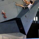 Guillaume Glairon Copa del Mundo de Escalada en Boulder IFSC 2011 Barcelona - Foto Villan Alayón