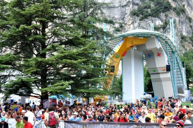 Campeonato del Mundo de Escalada IFSC 2011 en Arco