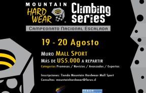 3ra Fecha del Campeonato Nacional de Escalada Deportiva en Chile