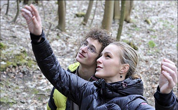 Adam y Kristyna Ondra en Kudlanka 8b+ - Foto Pepe Piechowicz