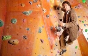 Johnny Dawes, demostrando estilo en el Castle. Foto The Guardian UK
