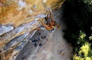 Video de escalada deportiva en Rodellar 2012