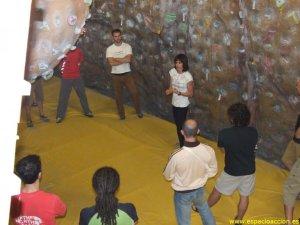 Curso Entrenamiento de escalada Fuerza Resistencia por Eva López en Centro Espacio Accion