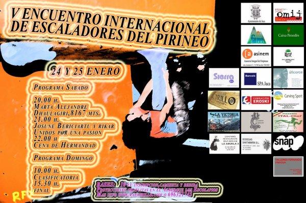 V Encuentro Internacional de Escaladores del Pirineo