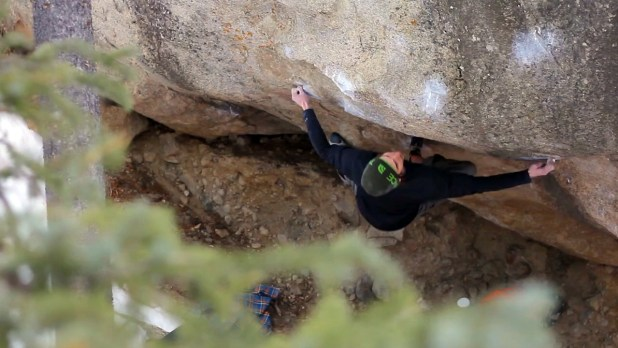 Video de Escalada Boulder Daniel Woods en The grey 8b+