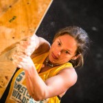 Caroline Ciavaldini 6to The North Face Master bouldering en Chile