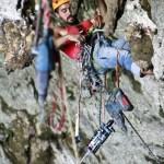 Equipadores en la cueva de Florian Colombia - Foto Julian Manrique