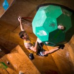 Felipe Camargo 6to The North Face Master bouldering en Chile