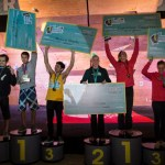 Podium 6to The North Face Master bouldering en Chile