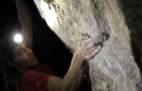 Video de Diego López Montull en El monstruo de mil cabezas 8b Mineral del Chico mexico