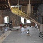 Construccion nueva sala de boulder La Farinera en Vic