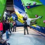 Diego Gonzalez Competencia escalada boulder BlockStarts México 2013