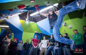 Diego Lopez Montull Competencia escalada boulder BlockStarts México 2013