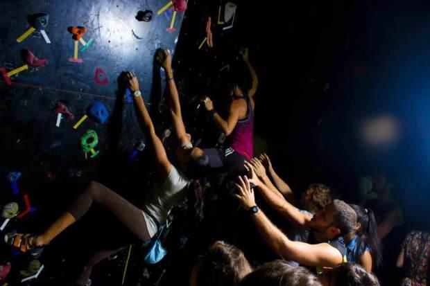 Competencia de boulder AteneoRockClub Maracaibo - Venezuela