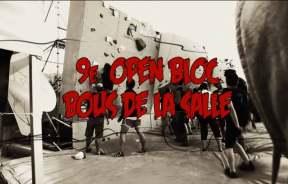 Video escalada boulder de la 9a Edición del Open Bloc Els Bous de la Salles