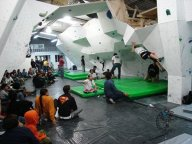 Inauguracion Sala de escalada Zona de Bloque en Colombia