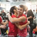 Carlos Catari y Alex Paz - Madrid Skala N'Bloke y 3ra Prueba de la Copa España de Boulder