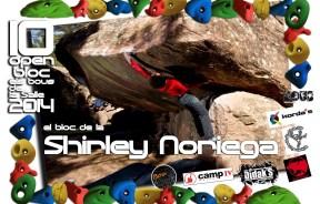 Shirley Noriega Equipadora del Open Bloc Bous de la Salle