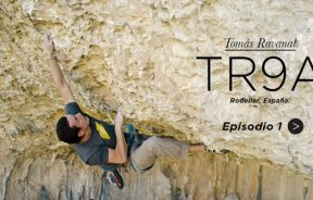 Tomas Ravanal En busca del primer 9a escalada Chile serie de videos TR 9a