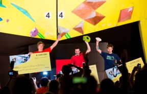 Podio masculino Facundo Langbehn The North Face Master Bouldering