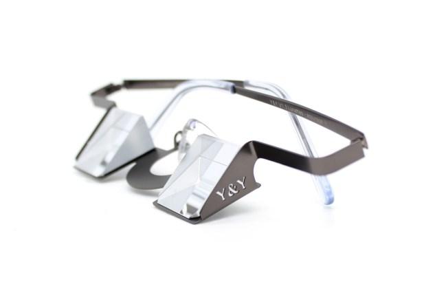 Prueba de las gafas para asegurar en escalada deportiva Y&Y Vertical
