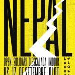 Open Solidario de Escalada Indoor por el Nepal en rocodromo La Bloquera