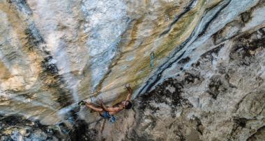 Escalada en La Guairita - Foto Gabriela Folgar