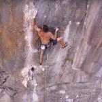 Escalada más dura de la roca en Tailandia