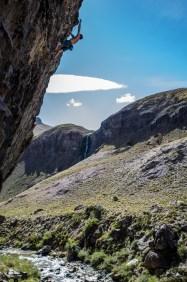 Escaladores internacionales al RockTrip TNF Valle de los Cóndores en Chile - Foto Matias Donoso